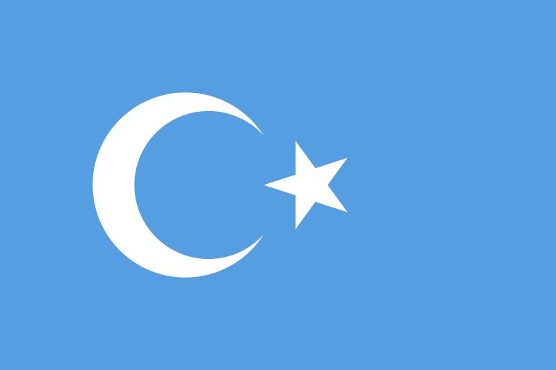 uygur flag